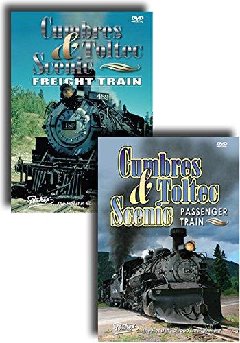 Cumbres & Toltec Scenic Railroad - Passenger and Freight Trains - 2 DVD Set [...