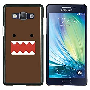Stuss Case / Funda Carcasa protectora - Monster chocolate personaje de dibujos animados lindo - Samsung Galaxy A5 ( A5000 ) 2014 Version
