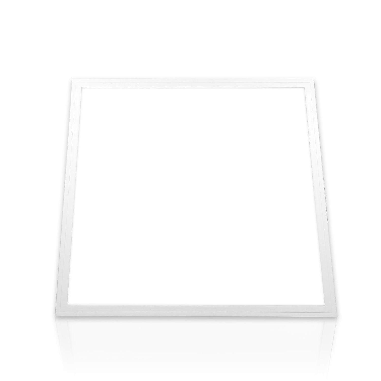 LED Panel kaltweiß Deckenleuchte tageslichtweiß 6000K 62x62 cm 40W Büro Deckenlampe Rasterleuchte 62x62 (ohne Montagematerial) Xtend PLe2.0