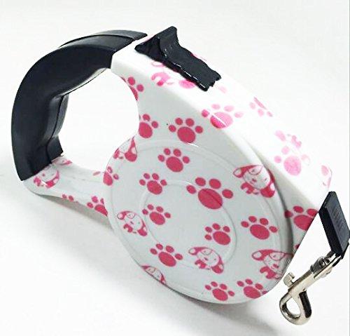 Hundeleinen für kleine Große Hunde Roll-Leine 5m Gurt für kleine Hund bis 15kg