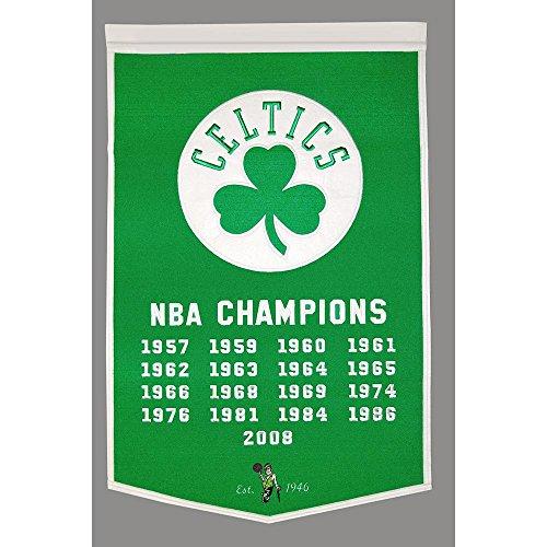 Boston Celtics NBA Dynasty Banner (24x36)