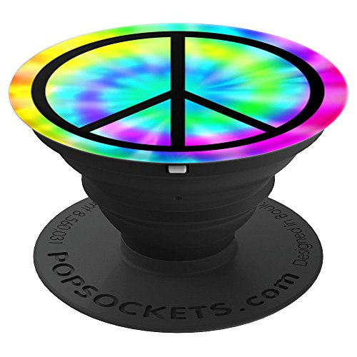 Ladies Allies Watch (Peace Sign PopSockets Grip Gift Tie Dye Peace Symbol Rainbow - PopSockets Grip and Stand for Phones and Tablets)