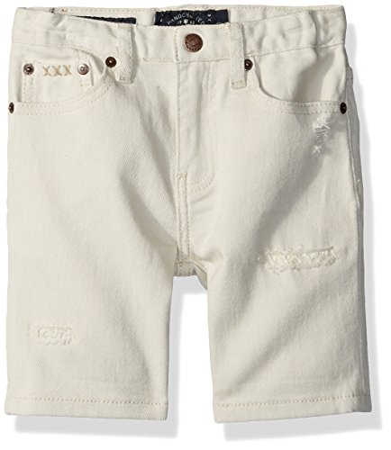 Lucky Brand Boys' Little Denim Shorts, Rainy Day, 6 ()