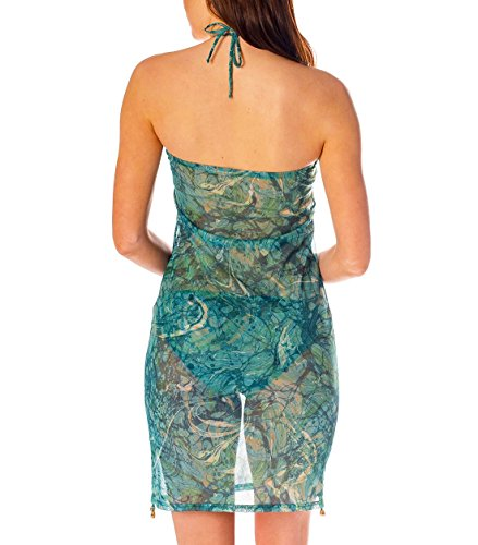 Cover Beach Accessory Up Kiniki Dress Through Tan Santorini qFWPX4
