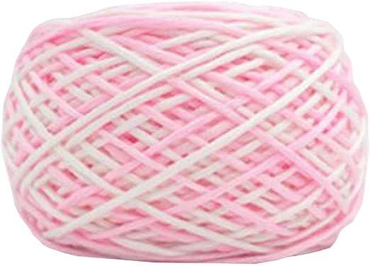 Chinashow hilo de algodón suave clásico de 14 onzas para ganchillo ...
