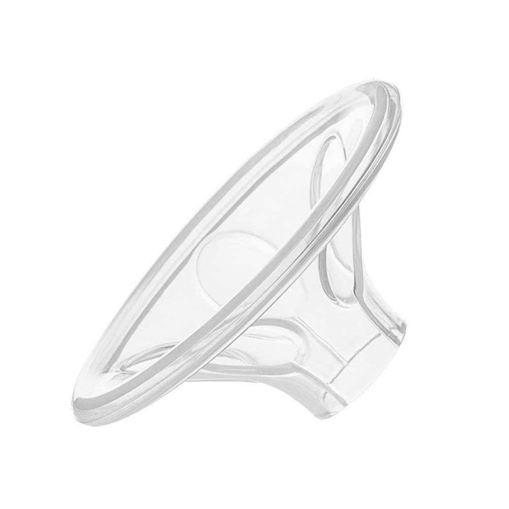 SUPVOX 5Pcs Manual Breast Pump Shield Silicone Breast Shield Breast Sucking Parts Breast Pump Accessories
