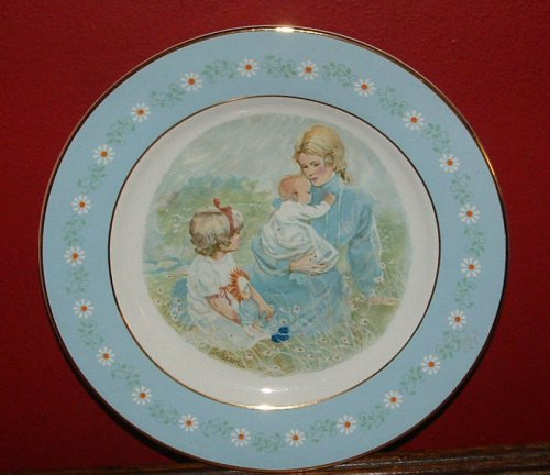Tenderness Collectors Plate - Avon Commemorative Award Plate 1974