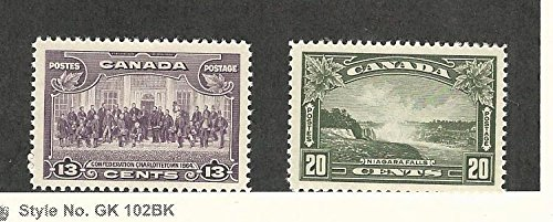 Canada, Postage Stamp, 224-225 Mint LH, 1935