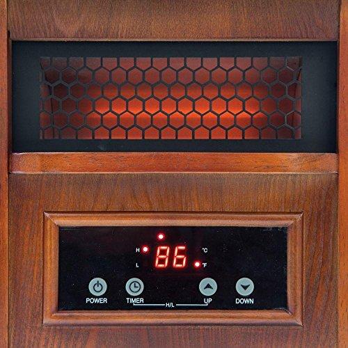 quartz infrared heater 1500 watt featuring temperature. Black Bedroom Furniture Sets. Home Design Ideas