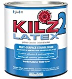 KILZ 2 Multi-Surface Stain Blocking Interior/Exterior Latex...
