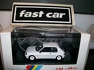 Peugeot 205 rallye (1988) en blanco (1:43 ª escala) de coches diecast modelo de