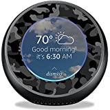 MightySkins Skin Amazon Echo Spot - Black Camo | Protective, Durable Unique Vinyl Decal wrap Cover | Easy to Apply, Remove Change Styles | Made in The USA
