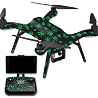 MightySkins Protective Vinyl Skin Decal for 3DR Solo Drone Quadcopter wrap cover sticker skins Marijuana