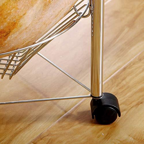 Shelf Storage Racks Storage Basket Shelf Baskets Cupboard Organizers Storage Rack Reinforce Iron Art Moveable Kitchen Sundries Finishing Rack ZHAOYONGLI by ZHAOYONGLI-shounajia (Image #6)