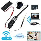 Toughsty™ 8GB 1920x1080P HD Mini Wifi Network Hidden Camera Module Motion Activated DV Camcorder with 140 Degrees Wide View Angle Support iPhone Android APP