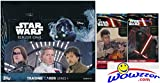 2016 Topps Star Wars Rogue One Series 1 MASSIVE Factory Sealed 24 Pack Retail Box with 144 Cards Plus SPECIAL BONUS of (2) Topps Star Wars The Force Awakens Foil Packs! Loaded! Brand New! Wowzzer!