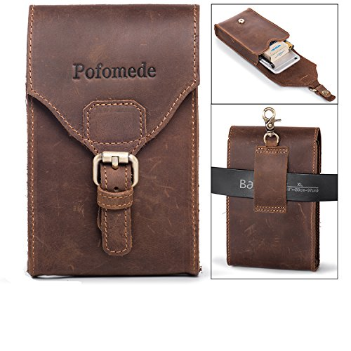 Pofomede Vertical Belt Clip Case Holster Pouch iPhone Holste