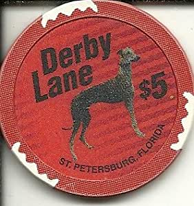 Amazon Com 5 Derby Lane Casino Chip St Petersburg