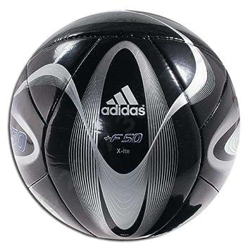 c5c36039c adidas F50 Xite Soccer Ball (Black/Blue, Size 5): Amazon.co.uk: Sports &  Outdoors