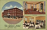 The Gilmer Hotel Columbus, Mississippi Original Vintage Postcard -  C. T. ART COLORTONE