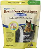 ARK Naturals PRODUCTS for PETS 326071 18-Ounce Breath-Less Chewable Brushless Toothpaste, Medium/Large