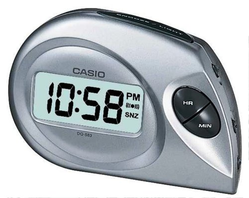 1f00b6d905dd Casio Collection Wake Up Timer Digital Alarm Clock DQ-583-8EF   Amazon.co.uk  Kitchen   Home