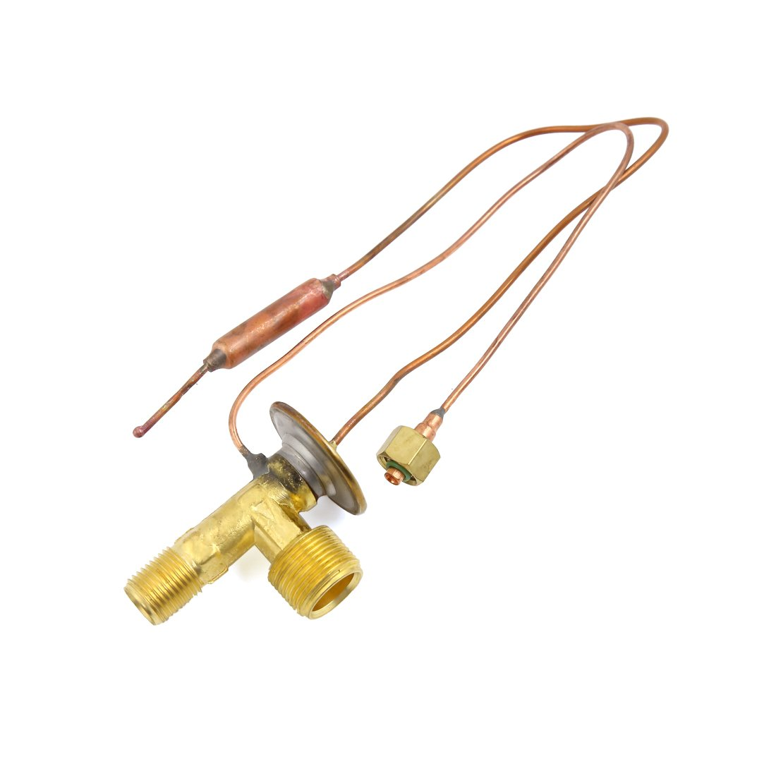 uxcell Universal A/C System Heating Cooling Dual Seal Rings Expansion Valve for Car