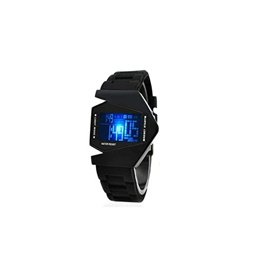 Digital LED reloj para niños impermeable clásico moda estudiantes relojes al por mayor sk-006 - 0817: Amazon.es: Relojes