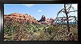 Panaramic View, Sedona, Az Framed Print 14.1''x28.1'' by Harold Silverman - Landscapes