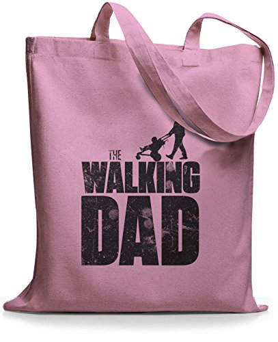 StyloBags Jutebeutel / Tasche The Walking dad Rosa lVRhb