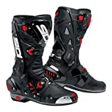 Sidi Vortice Sports Race Motorbike Motyorcycle Boots - Black/Black EC 48
