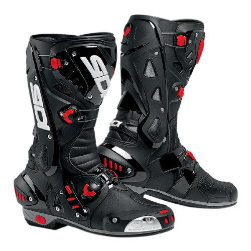 New 2015 Sidi Vortice Black/Black Motorcycle Boots (Motorcycle Sidi Vortice)