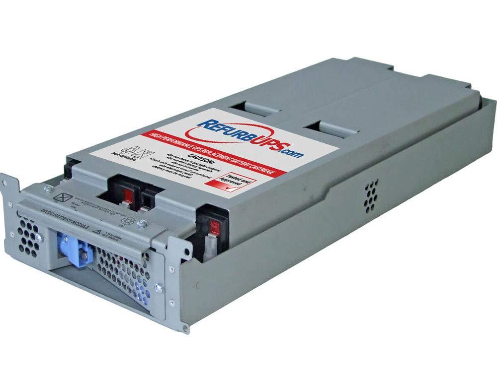 SMT2200RM2U UPSBatteryCenter RBC43 Compatible Replacement Battery Pack for APC Smart-UPS 2200VA RackMount 2U