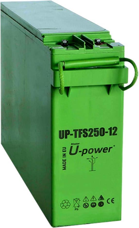 wccsolar.es Batería AGM U-Power TFS-250Ah 12V