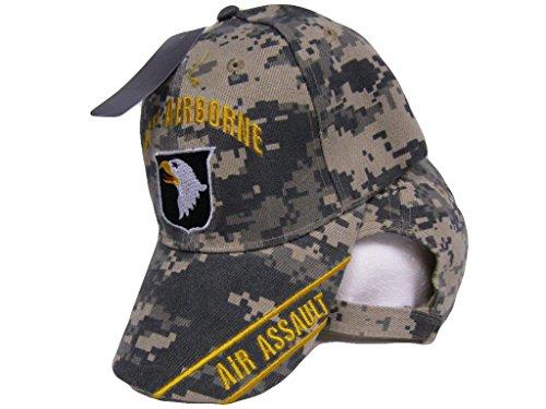 K's Novelties U.S. Army Airborne Air Assault Embroidered ACU Camo Camouflage Baseball Cap Hat