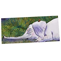 "KESS InHouse Catherine Holcombe ""Ernie's Dream"" Office Desk Mat, Blotter, Pad, Mousepad, 13 x 22-Inches"