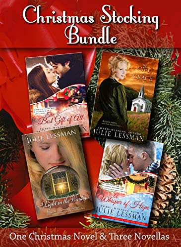 A Christmas Stocking Bundle: One Christmas Novel and Three Novellas by [Lessman, Julie]