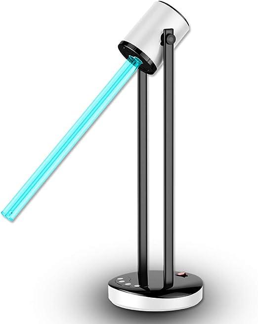 RTTZ Desinfección de lámpara UV Desinfección por Aire UV Bacterias ...