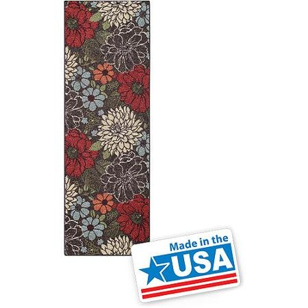Zen Garden Rug (Better Homes and Gardens Sorbet Faux Hook Floral Runner Rug, Multi-Color, 1'11