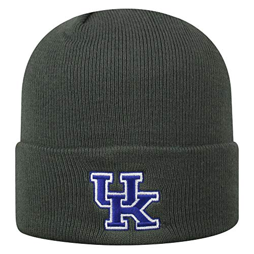 Top of the World Kentucky Wildcats Men's Winter Knit Hat Icon, Charcoal, One Fit -