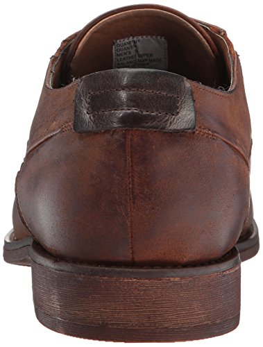 Steve Madden Mens Quantim Oxford Cognac Leather