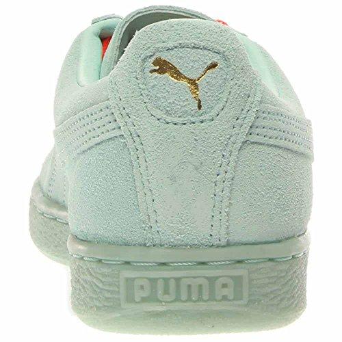 Aqua Suede ghiacciato Team Puma Gold Classic Fair Puma Sneaker Suede xT4w0761qn