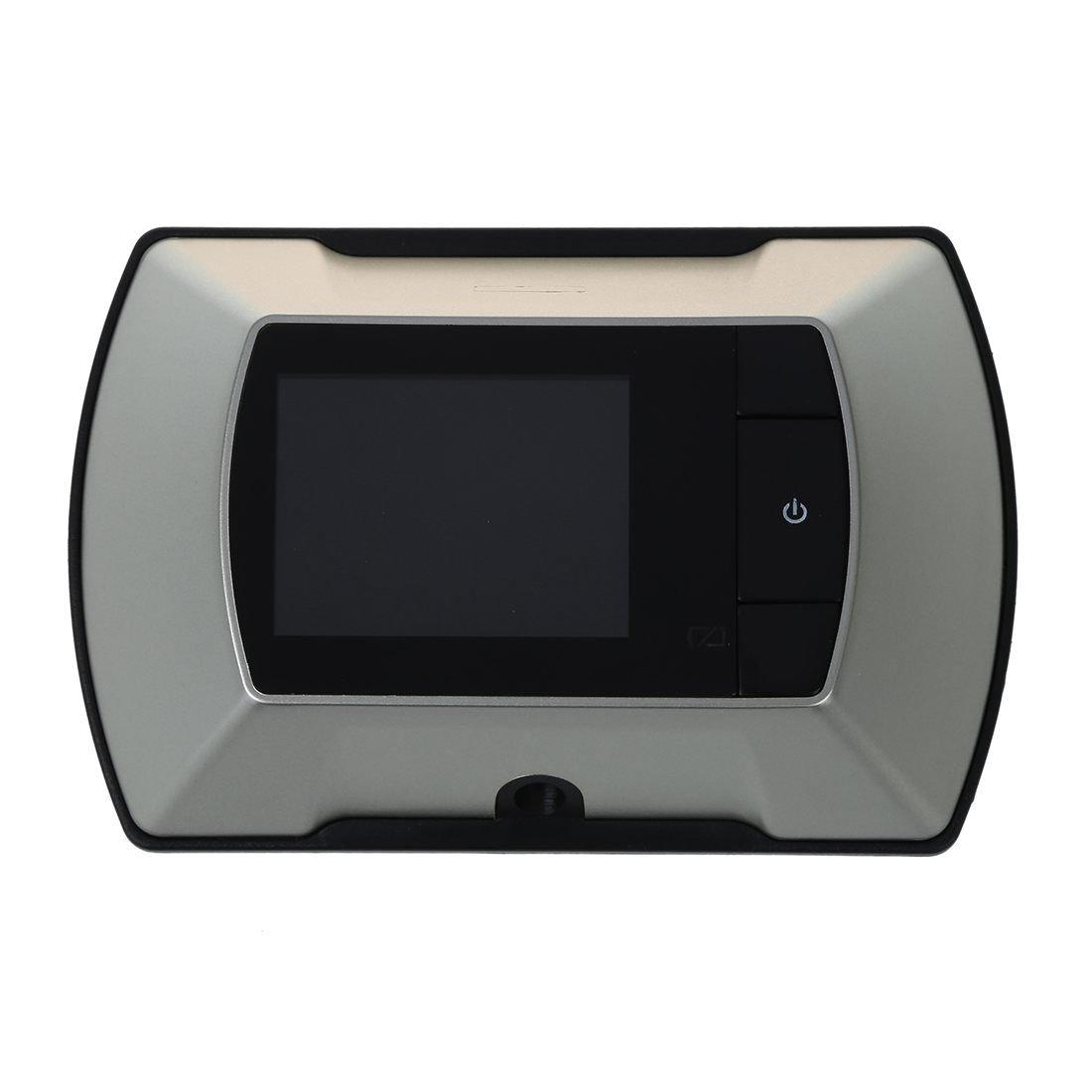 TOOGOO(R) 2.4'' Monitor Digital Door Peephole Viewer High Resolution Camera DIY