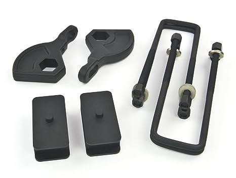 "Steel Lift KitFront Adjustable 1-3/"" Rear 2.5/""Dakota 1987-2004 4WD"