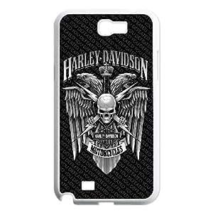 Harley Davidson Samsung Galaxy N2 7100 Cell Phone Case White ywp