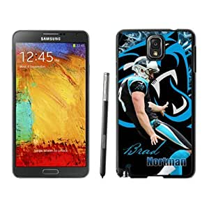 NFL Carolina Panthers Brad Nortman Samsung Galalxy Note 3 Case Gift Holiday Christmas Gifts cell phone cases clear phone cases protectivefashion cell phone cases HLNKY604582819