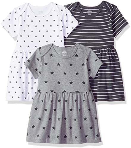 Amazon Essentials Baby Girls 3-Pack Dress