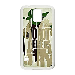 Custom Personalized Phone Case Star Wars Hard Plastic Case Back Cover for Samsung Galaxy S5 _White 30311
