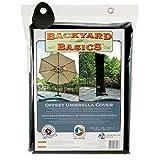 MR BAR B Q Backyard Basics Offset Umbrella Cover