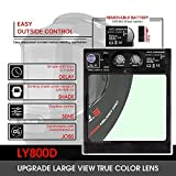 YESWELDER Large Viewing True Color Solar Powered